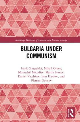 Bulgaria under Communism book cover