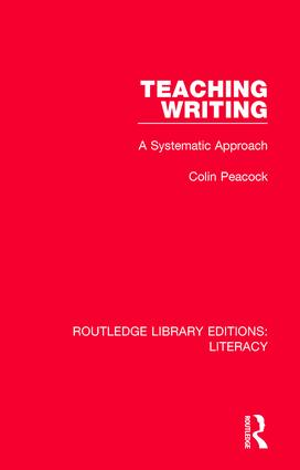 Teaching Writing: A Systematic Approach book cover