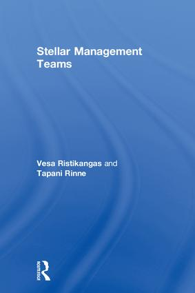 Stellar Management Teams: 1st Edition (Hardback) book cover