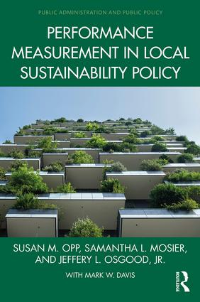 Performance Measurement in Local Sustainability Policy: 1st Edition (Hardback) book cover