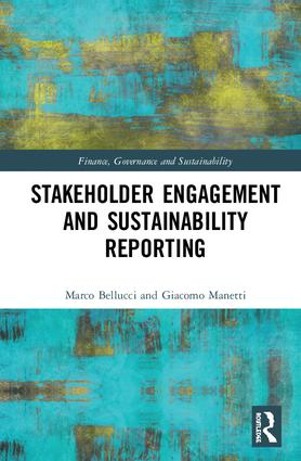 Stakeholder Engagement and Sustainability Reporting: 1st Edition (Hardback) book cover