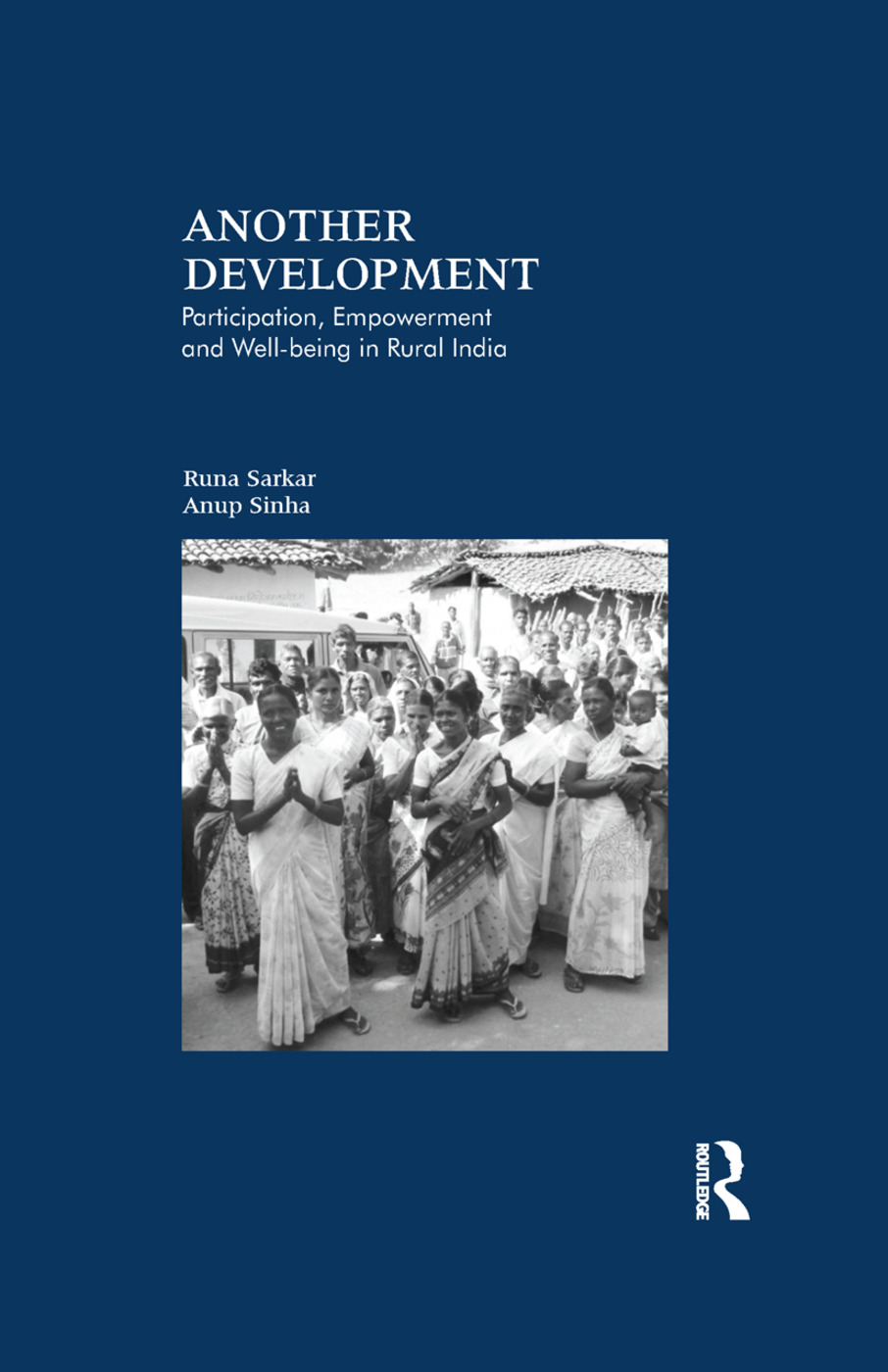 Another Development: Participation, Empowerment and Well-being in Rural India book cover