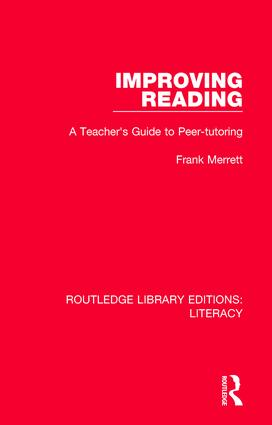 Improving Reading: A Teacher's Guide to Peer-tutoring book cover