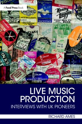 Live Music Production: Interviews with UK Pioneers book cover