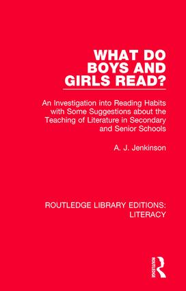 What do Boys and Girls Read?: An Investigation into Reading Habits with Some Suggestions about the Teaching of Literature in Secondary and Senior Schools book cover
