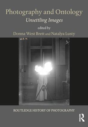 Photography and Ontology: Unsettling Images book cover