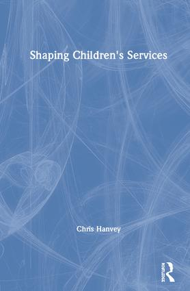 Shaping Children's Services book cover