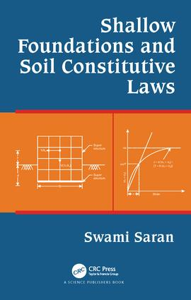 Shallow Foundations and Soil Constitutive Laws: 1st Edition (e-Book) book cover