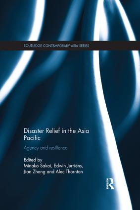 Disaster Relief in the Asia Pacific: Agency and Resilience book cover