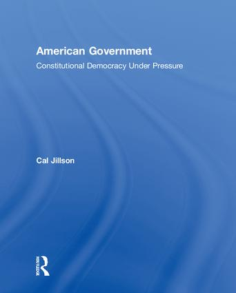 American Government: Constitutional Democracy Under Pressure book cover