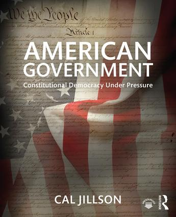 American Government: Constitutional Democracy Under Pressure, 1st Edition (Paperback) book cover