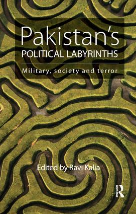 Pakistan's Political Labyrinths: Military, society and terror book cover