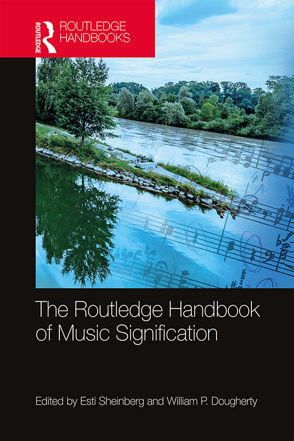 The Routledge Handbook of Music Signification book cover
