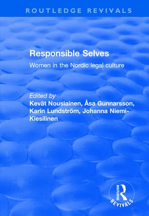 Responsible Selves: 1st Edition (Hardback) book cover