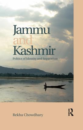 Jammu and Kashmir: Politics of identity and separatism, 1st Edition (Paperback) book cover