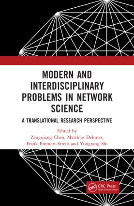 Modern and Interdisciplinary Problems in Network Science: A Translational Research Perspective, 1st Edition (Hardback) book cover