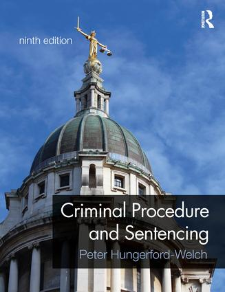 Criminal Procedure and Sentencing book cover