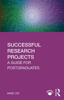 Successful Research Projects: A Guide for Postgraduates book cover