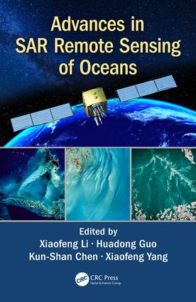 Advances in SAR Remote Sensing of Oceans: 1st Edition (Hardback) book cover