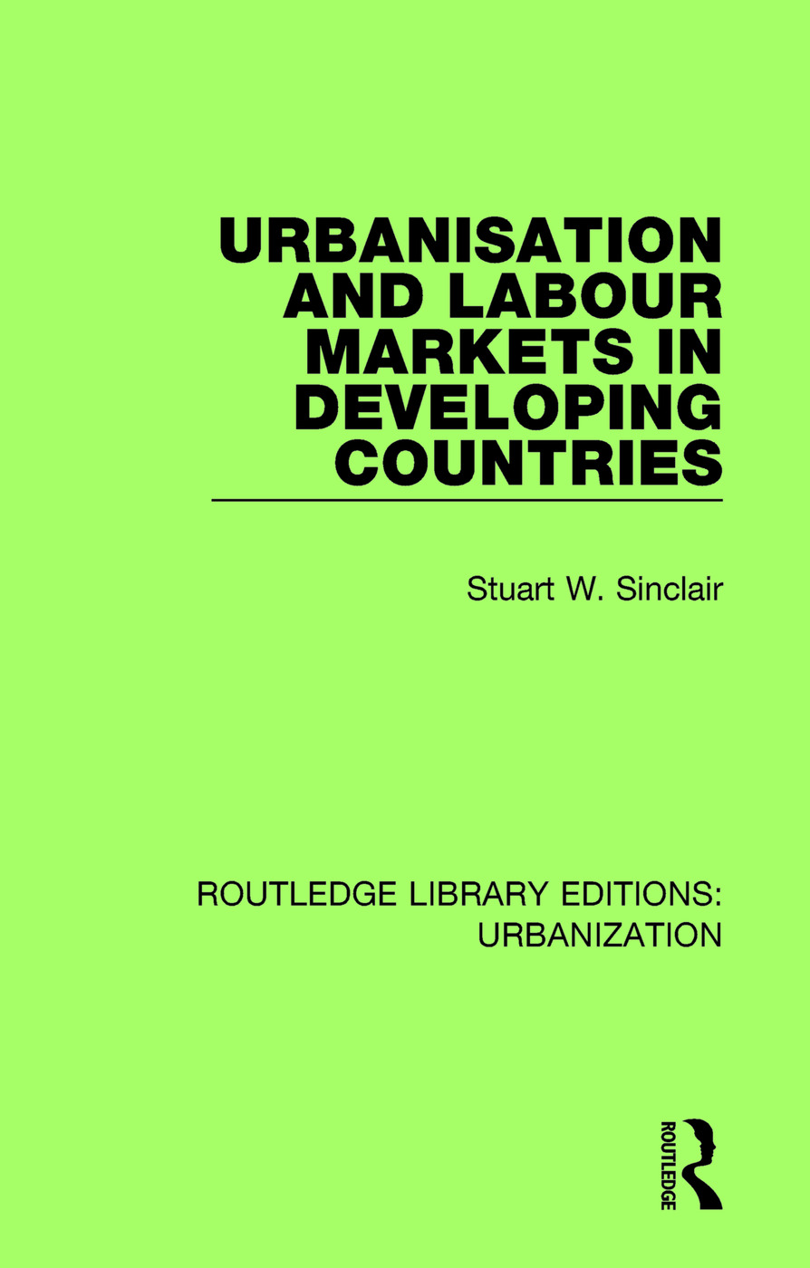 Urbanisation and Labour Markets in Developing Countries book cover