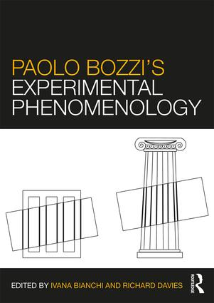 Paolo Bozzi's Experimental Phenomenology: 1st Edition (Paperback) book cover