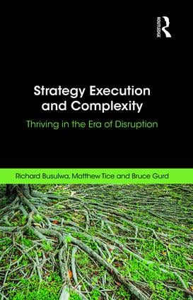 Strategy Execution and Complexity: Thriving in the Era of Disruption book cover