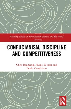 Confucianism, Discipline and Competitiveness: 1st Edition (Hardback) book cover