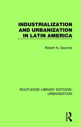 Industrialization and Urbanization in Latin America book cover