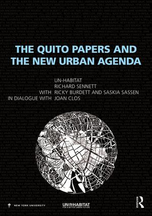 The Quito Papers and the New Urban Agenda book cover