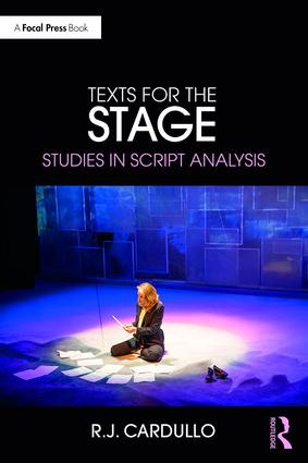 Texts for the Stage: Studies in Script Analysis book cover