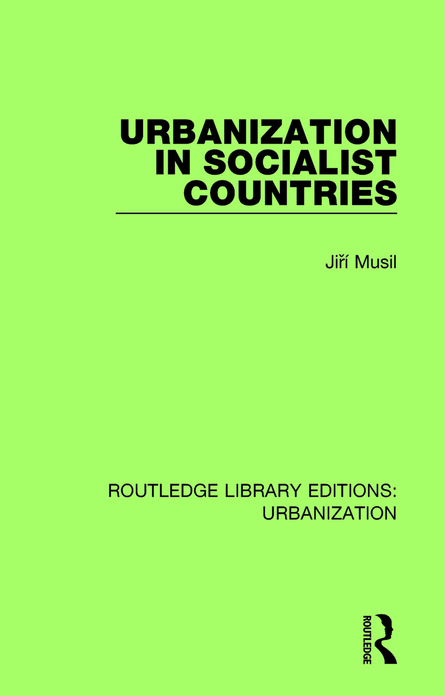 Urbanization in Socialist Countries book cover
