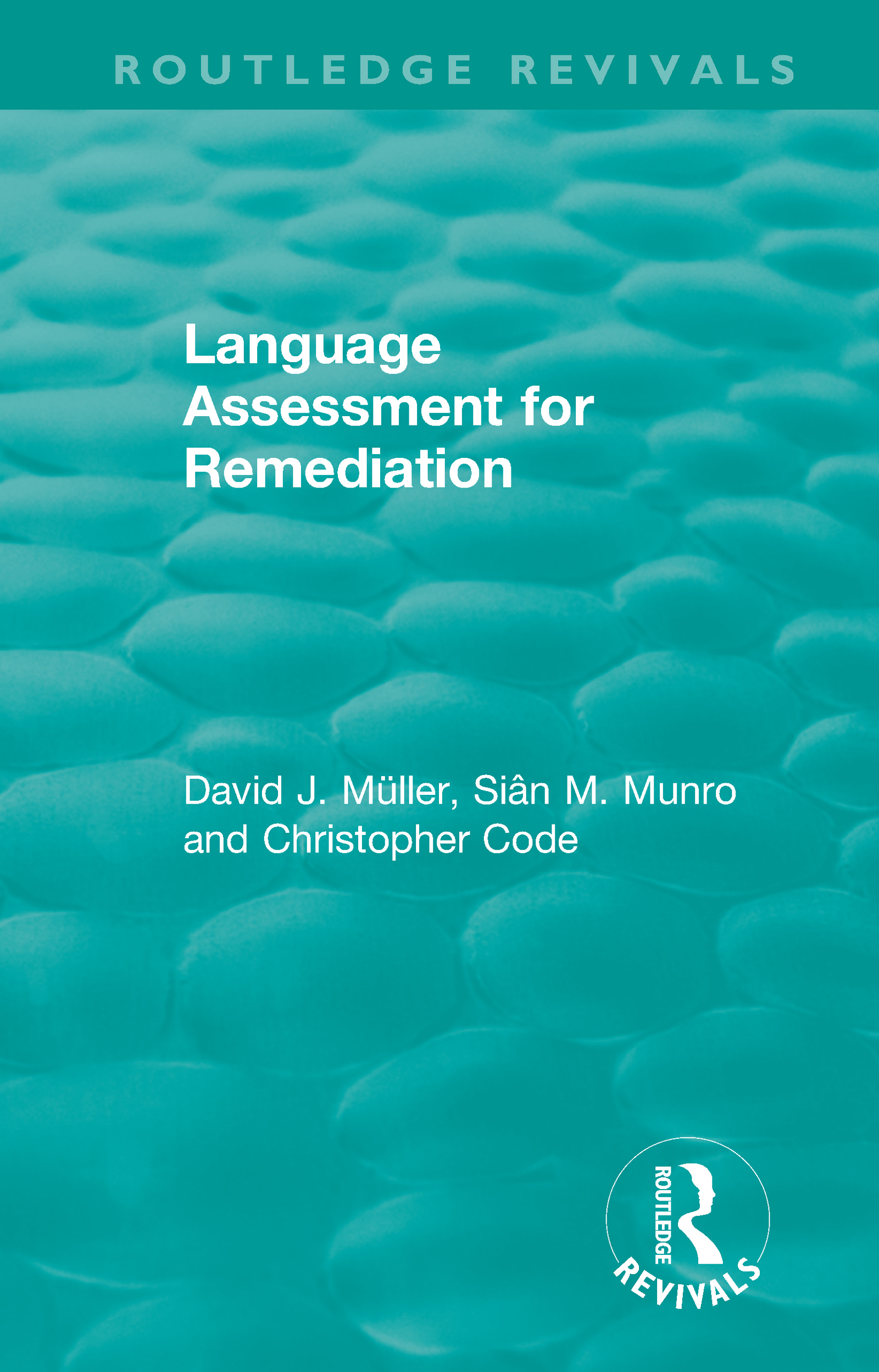 Language Assessment for Remediation (1981) book cover