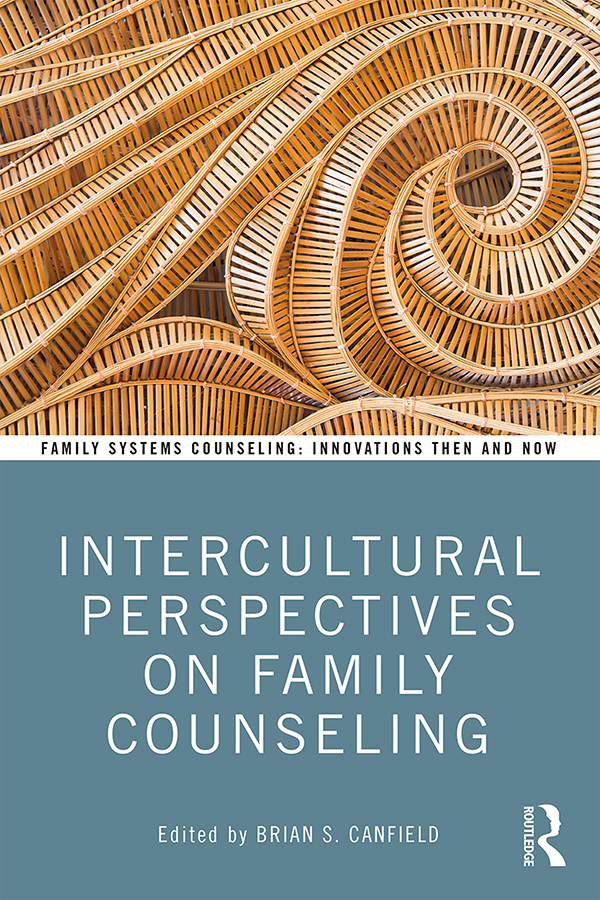 Intercultural Perspectives on Family Counseling: 1st Edition (Hardback) book cover