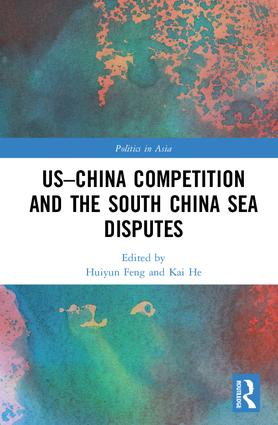 US-China Competition and the South China Sea Disputes: 1st Edition (Hardback) book cover