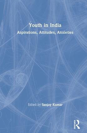 Youth in India: Aspirations, Attitudes, Anxieties book cover