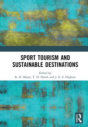 Sport Tourism and Sustainable Destinations: 1st Edition (Hardback) book cover