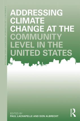 Addressing Climate Change at the Community Level in the United States book cover