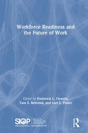 Workforce Readiness and the Future of Work: 1st Edition (Hardback) book cover