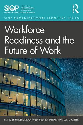 Workforce Readiness and the Future of Work: 1st Edition (Paperback) book cover