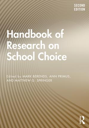 Handbook of Research on School Choice: 2nd Edition (Paperback) book cover