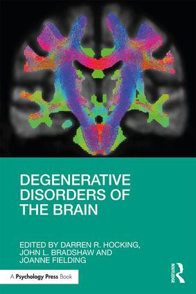 Degenerative Disorders of the Brain: 1st Edition (Paperback) book cover