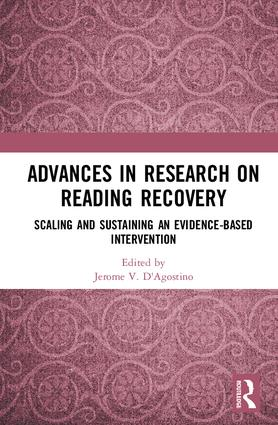 Advances in Research on Reading Recovery: Scaling and Sustaining an Evidence-Based Intervention book cover