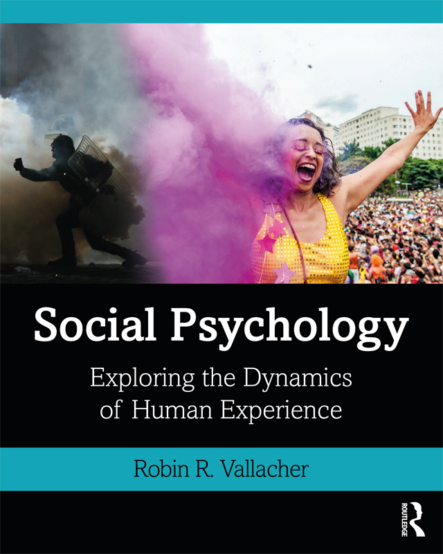 Social Psychology: Exploring the Dynamics of Human Experience book cover