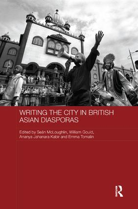 Writing the City in British Asian Diasporas: 1st Edition (Paperback) book cover