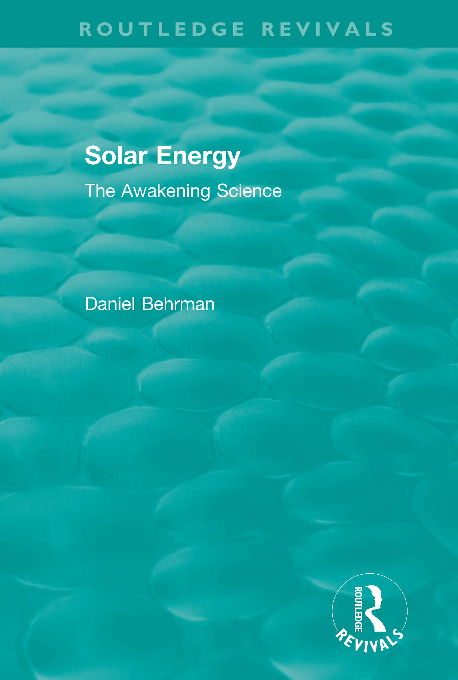 Routledge Revivals: Solar Energy (1979) book cover