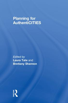 Planning for AuthentiCITIES book cover