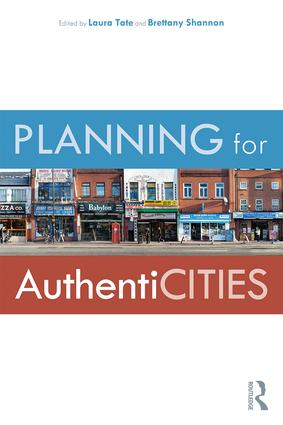 Planning for AuthentiCITIES: 1st Edition (Paperback) book cover