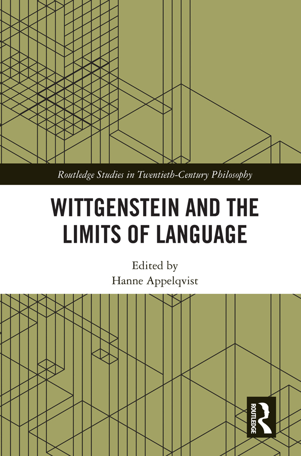 Wittgenstein and the Limits of Language: 1st Edition (Hardback) book cover