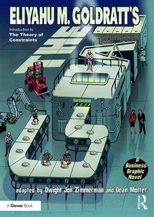 The Goal: A Business Graphic Novel, 1st Edition (Paperback) book cover