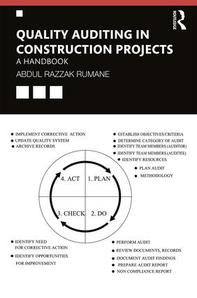 Quality Auditing in Construction Projects: A Handbook book cover
